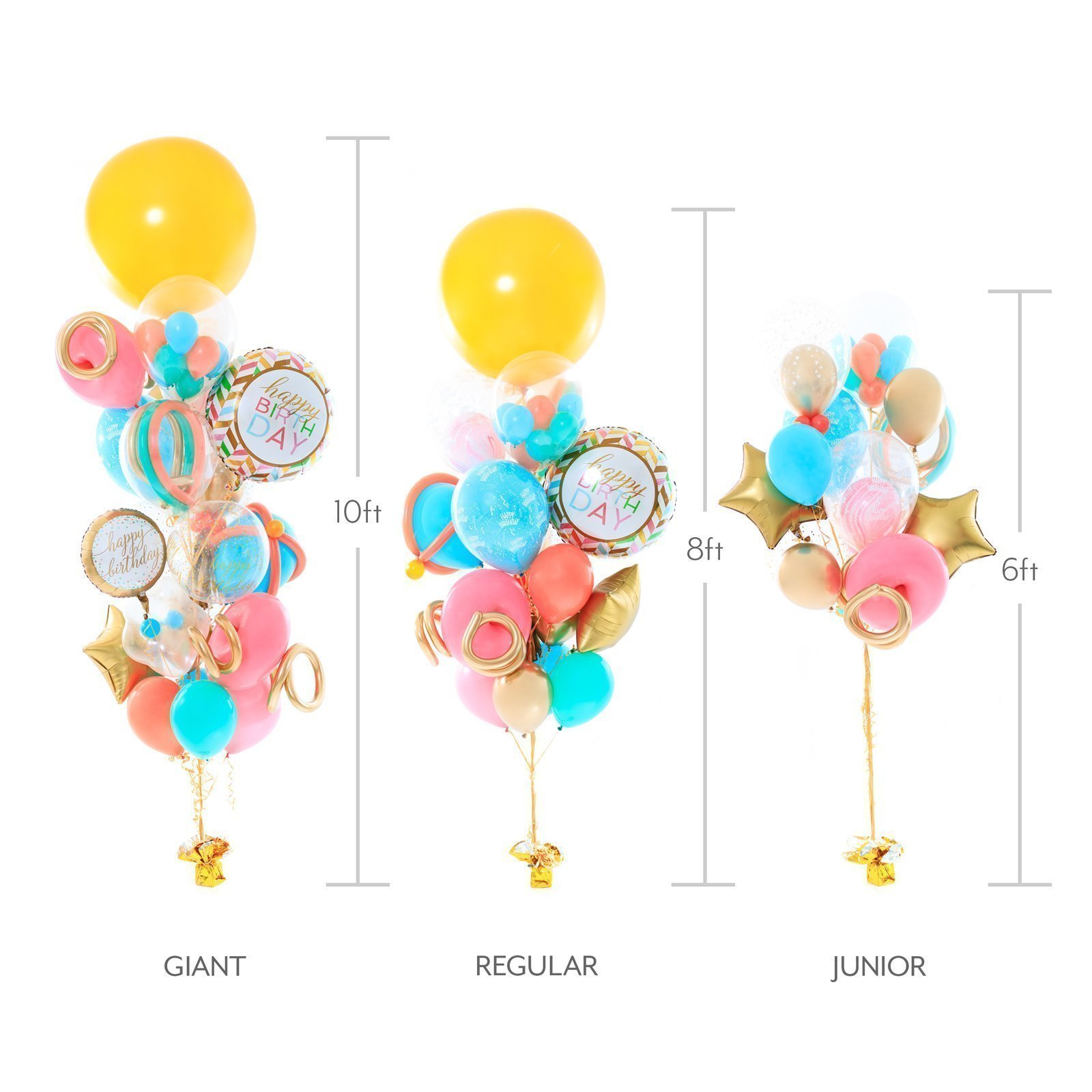 Disney Princess Birthday Balloon Bouquet Balloonzilla